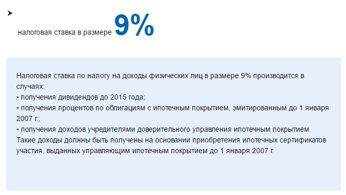 Налог на дивиденды для физических лиц в РФ