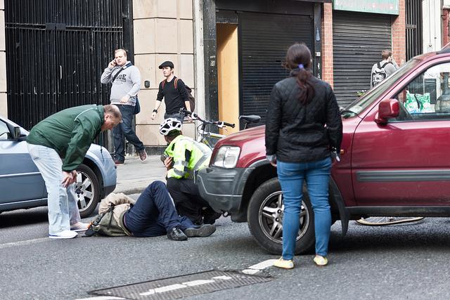 Ответственность за сбитого пешехода вне пешеходного перехода