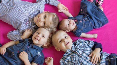 Алименты на 4 детей