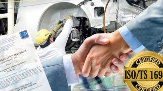 Сертификация ISO 16949 для автомобильной промышленности