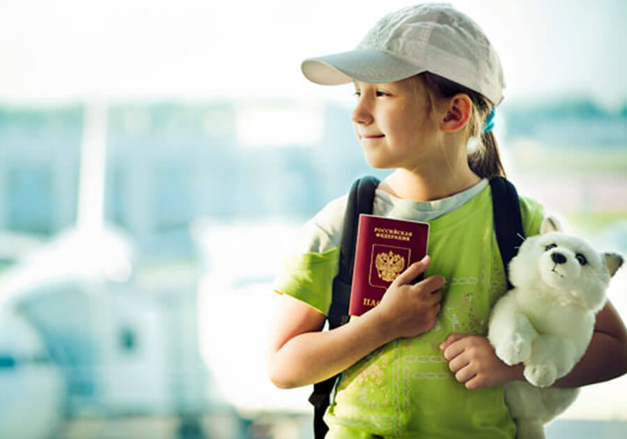 Самостоятельный выезд несовершеннолетнего ребенка за границу