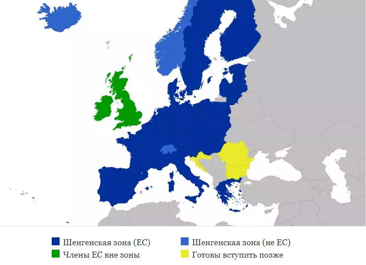 В какие страны проще всего получить шенгенскую визу
