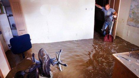 Квартиру затопило