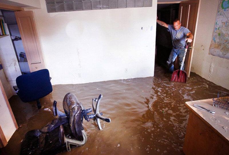 затопило застрахованную квартиру