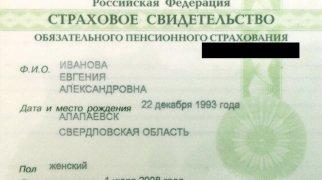 Что такое СНИЛС в России