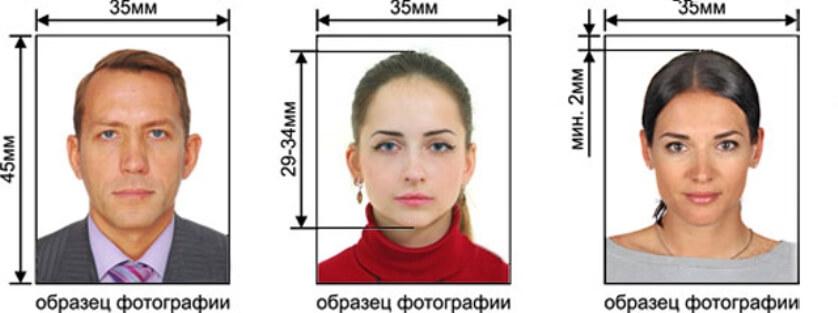 Фото на паспорт при замене паспорта по возрасту