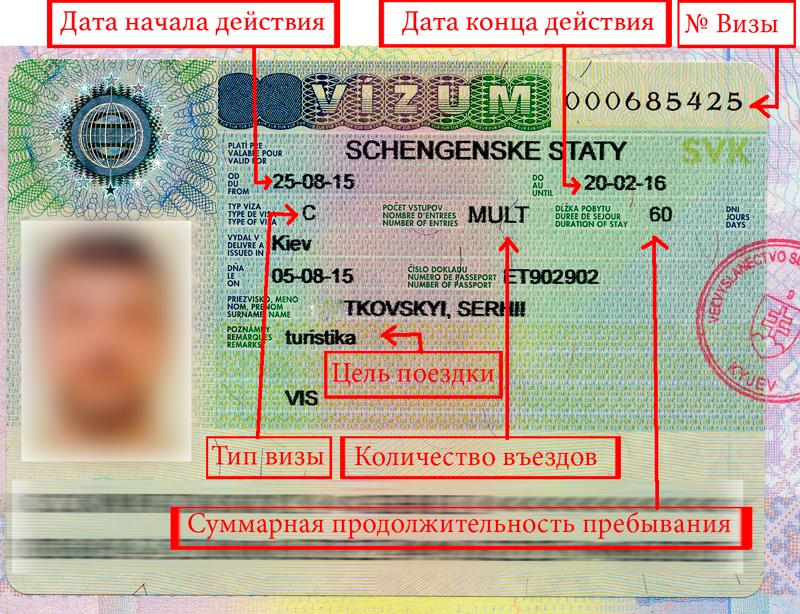 Отличия обычной визы от Шенгенской