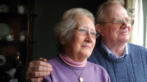 Счастливые пенсионеры