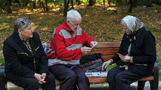 Пенсионеры считают пенсию