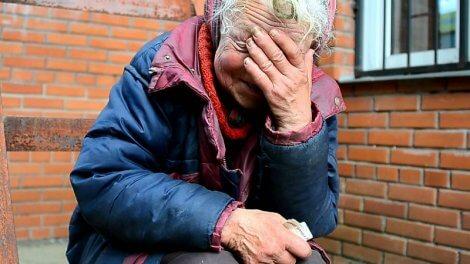 Женщина потеряла мужа